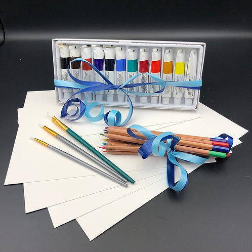 Doodle at Home Watercolor Supply Kit