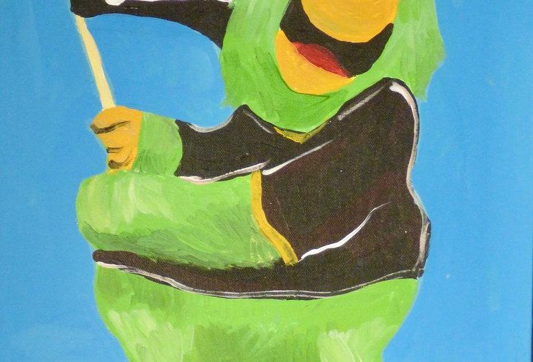 Pirate Parrot Canvas