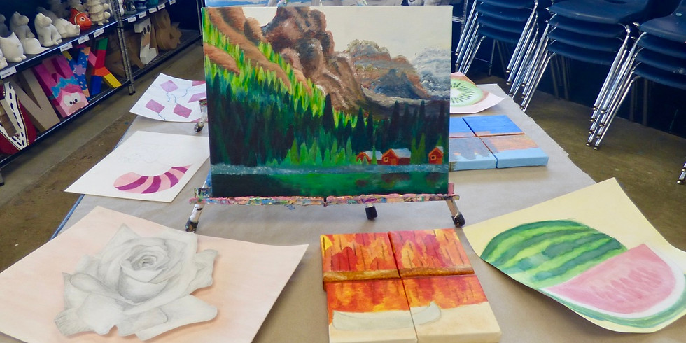 Painting Camp (Ages 10-14)