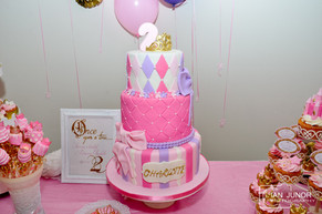 REAL PARTIES : Pretty Gold, Lilac and Pink Princess Party