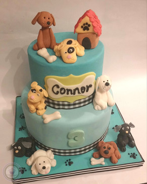 THEMED BAKES : Puppy Party