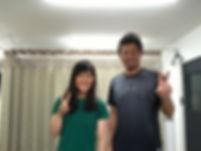 女子プロ野球選手 京都フローラ 三浦伊織 治療後