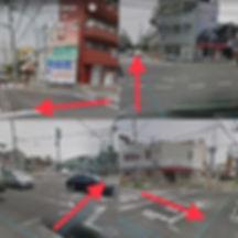尾浜交差点 阪神尼崎駅