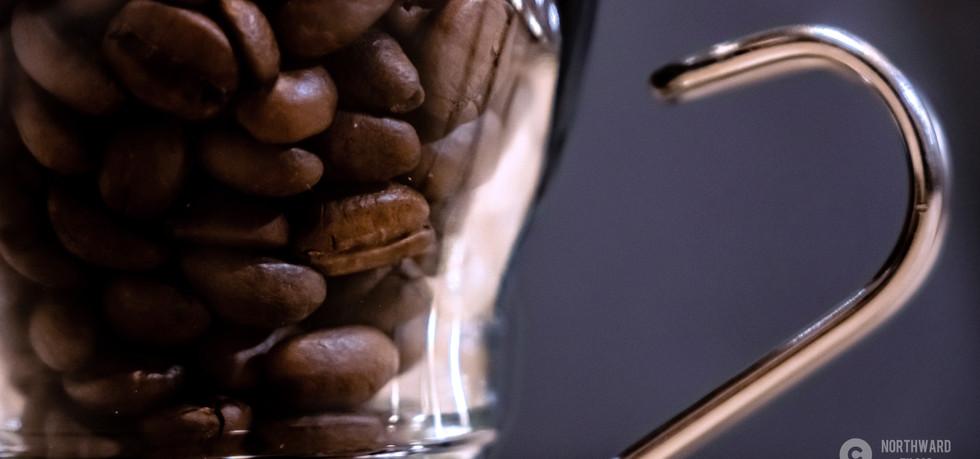 Espresso Beans In Glass