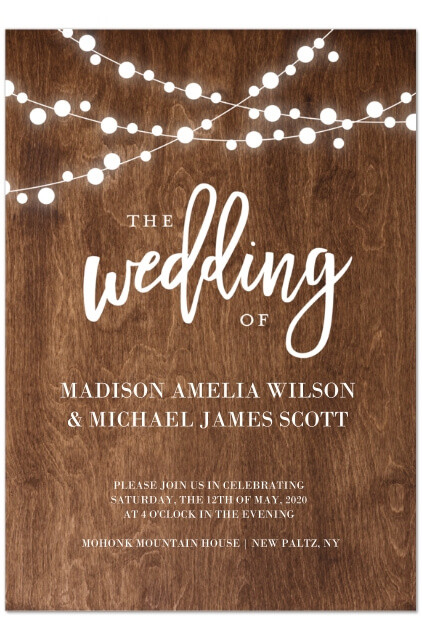 walgreens wedding invites