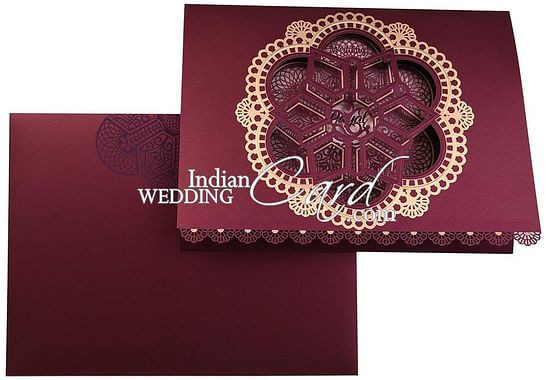 wedding invites size