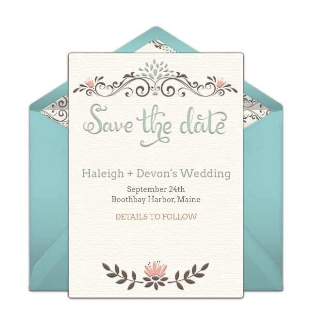 wedding invites packs