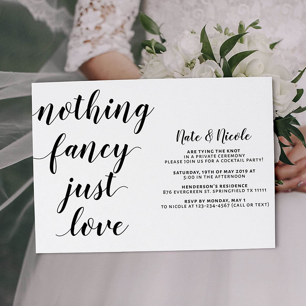 printing wedding invites