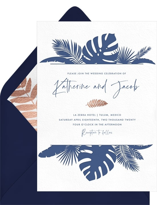 wedding invites digital