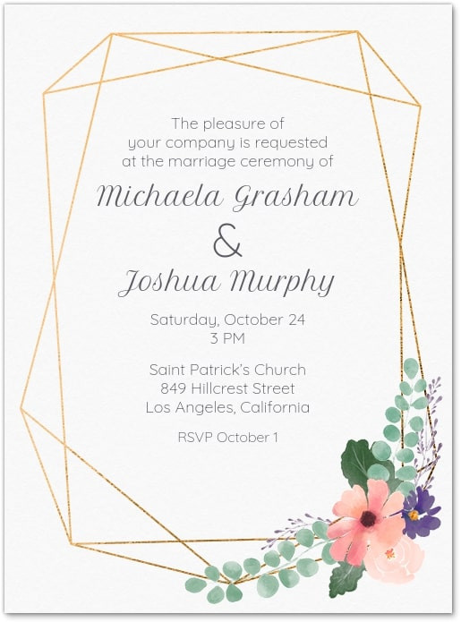 sending wedding invites