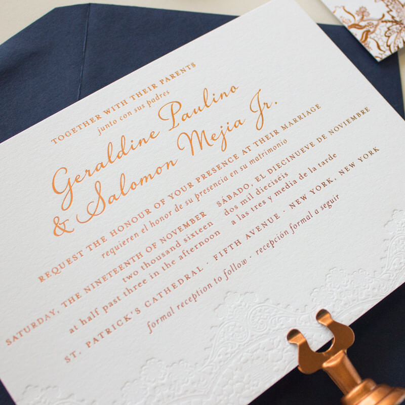 wedding invites in spanish