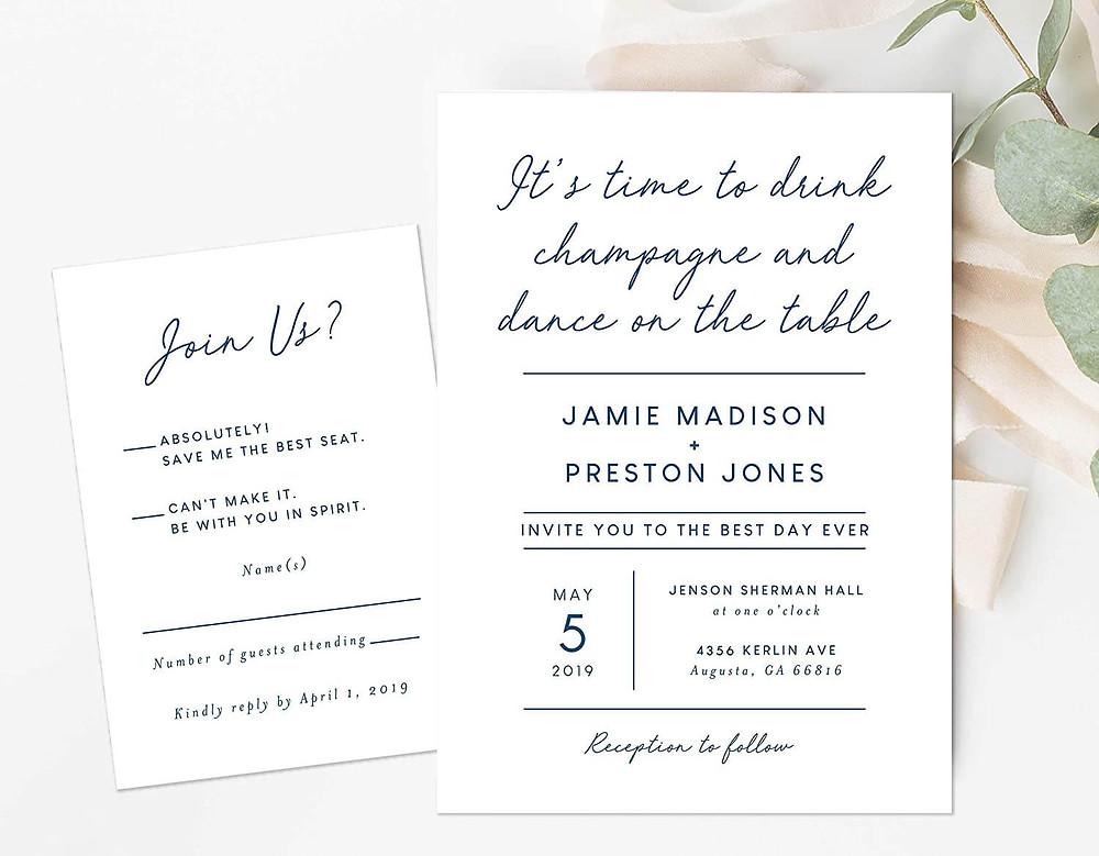 wedding invites envelopes