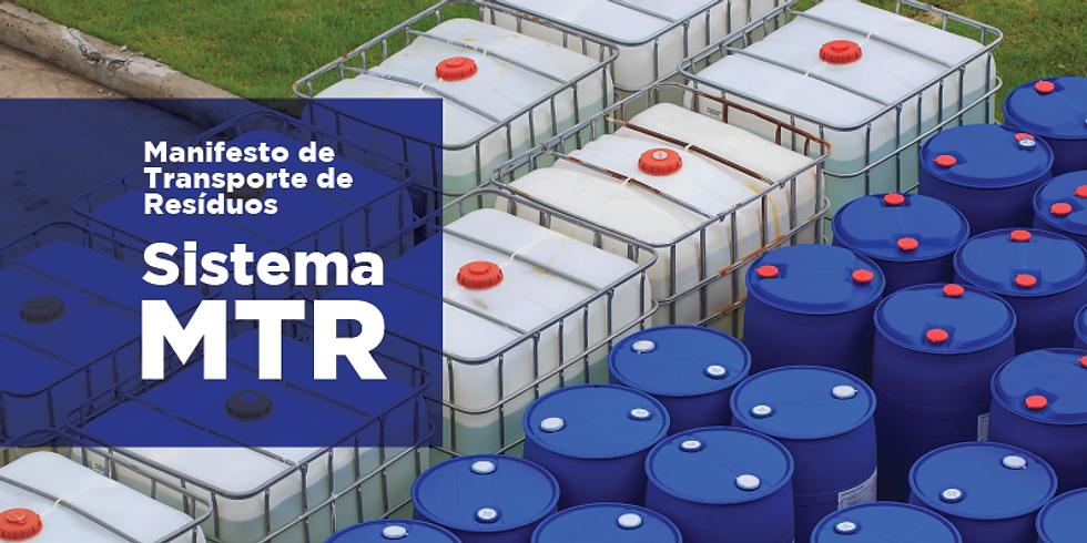 Palestra Sistema de Manifesto de Transporte de Resíduos - MTR