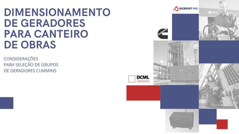 PALESTRA DIMENSIONAMENTO DE GERADORES PARA O CANTEIRO DE OBRAS