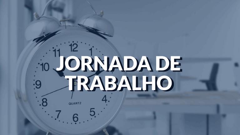 CURSO JORNADA DE TRABALHO
