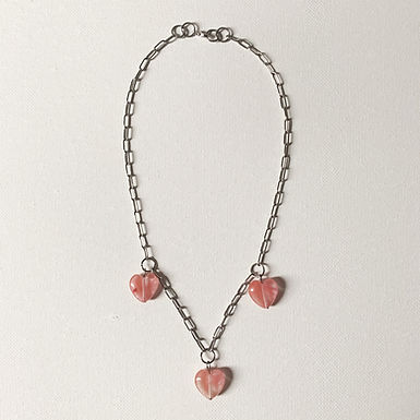 Triple heart Silver