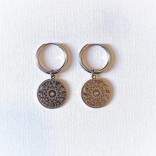 Astrology earring