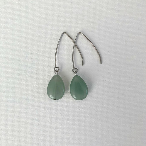 French Hook Green Aventurine