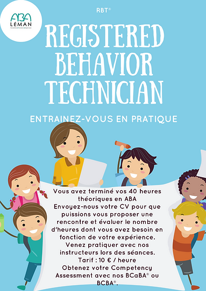Formation pratique RBT® ABA LÉMAN