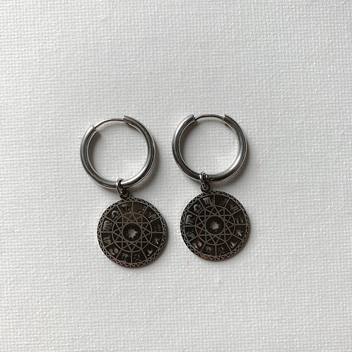 Astrology earring