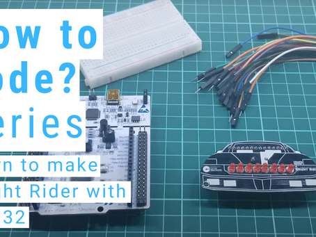 How to make Knight Rider with STM32F411 on Mbed
