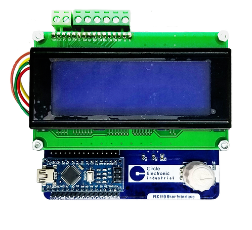 PLC I/O User Interface