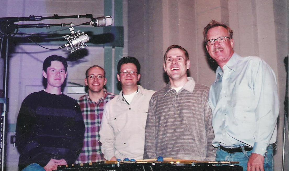Erik Applegate, Chris Brown, Don, Dana Landry, Gary Burton