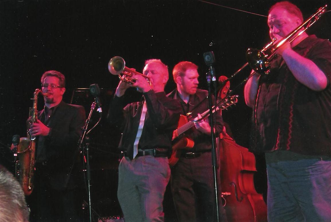 Don, Clay Jenkins, Steve Kovalcheck and Paul McKee