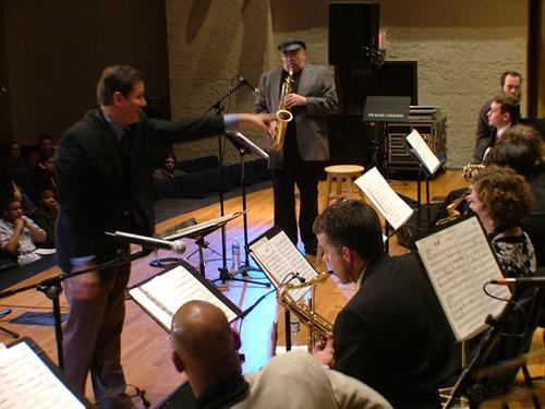 MTSU Jazz Ensemble with Phil Woods