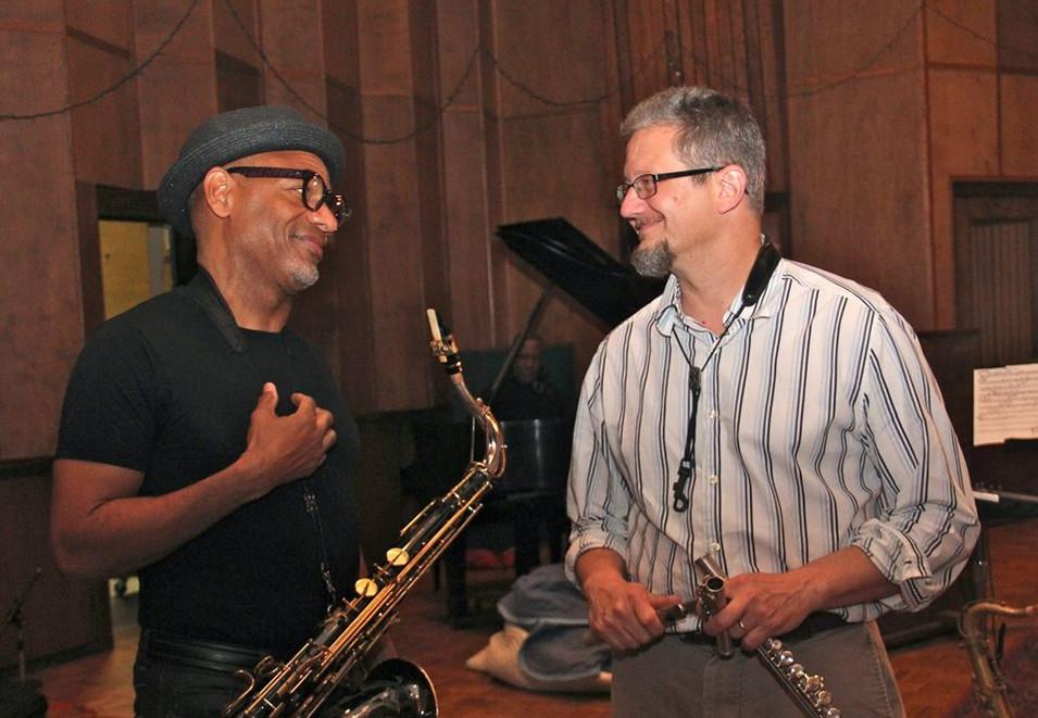 With Kirk Whalum