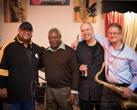 Dwayne Dolphin, Roger Humphries, David Budway, Don