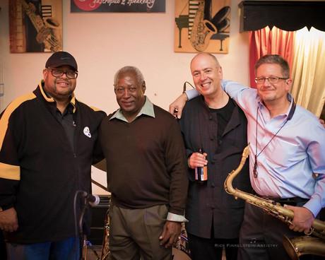 Dwayne Dolphin, Roger Humphries, David Budway, Don