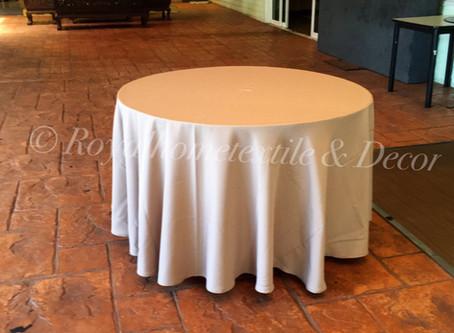 ผ้าปูโต๊ะ (TABLECLOTH) วัฒนธรรมที่ขาดไม่ได้บนโต๊ะอาหาร