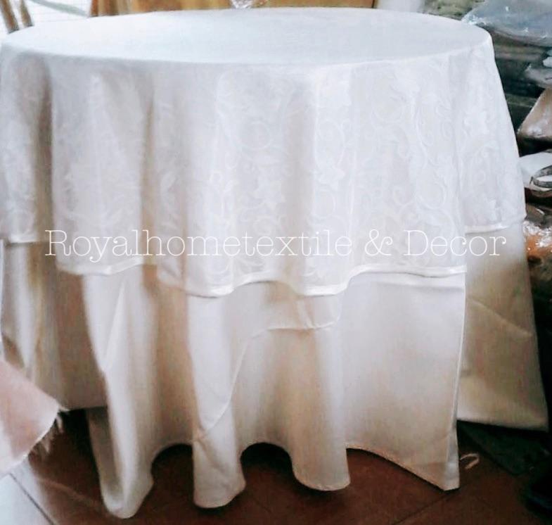 ผ้าปูโต๊ะ/ผ้าคลุมโต๊ะกลม