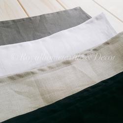ผ้าเช็ดปาก/ผ้าแนพกิ้น/Napkins ลินิน/Linen