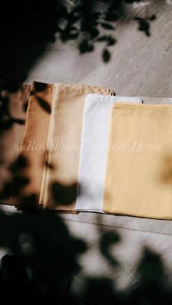 ผ้าเช็ดปาก/ผ้าแนพกิ้น/Napkins สีพื้น