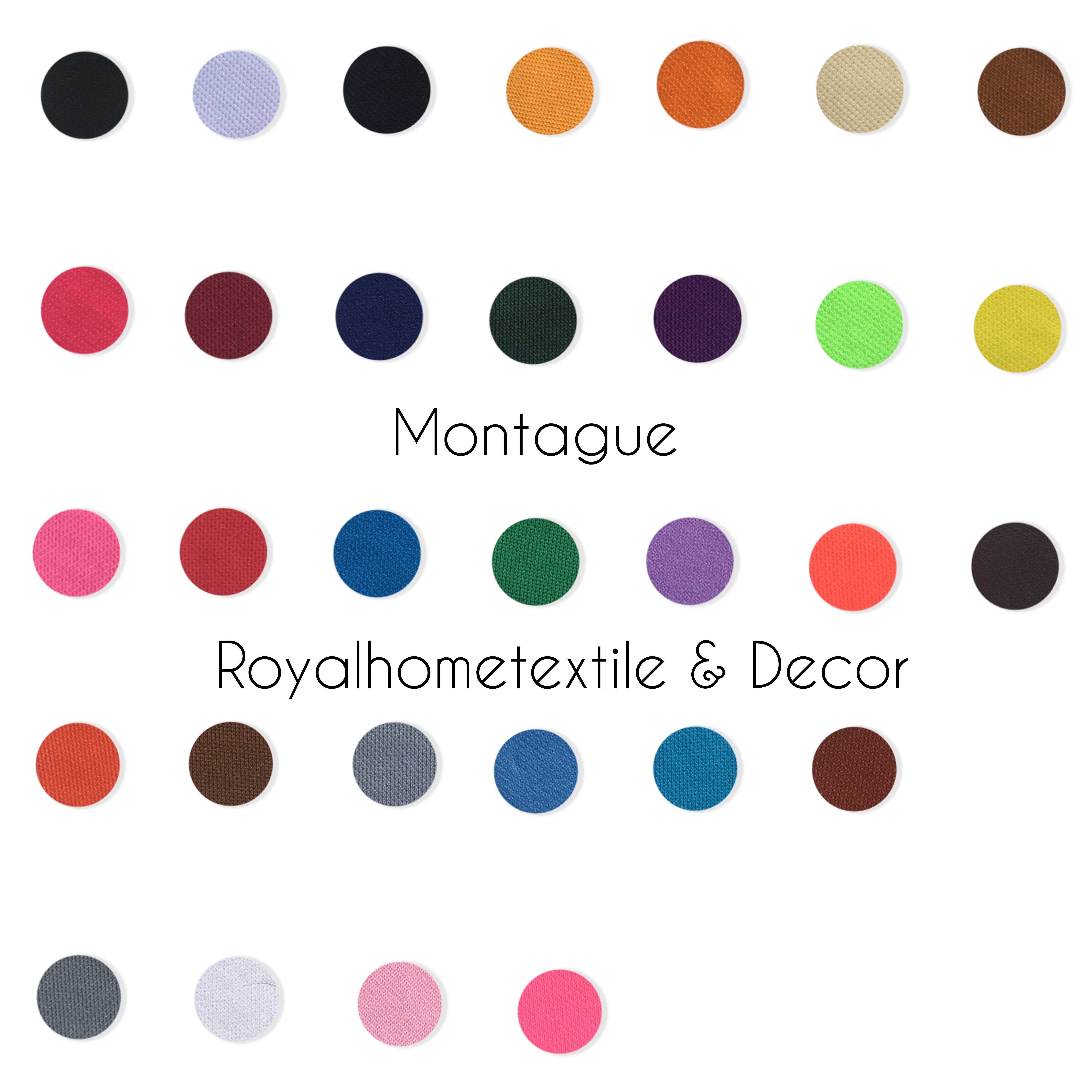MONTAGUE/ผ้ามองตากูร์
