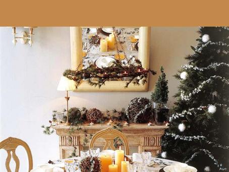 12 ไอเดียตกแต่งโต๊ะอาหารสำหรับเทศกาลคริสมาสต์