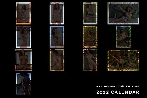 Luci Power 2022 Calendar - NSFW