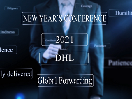 "Naumachia & DHL: Evento Digitale ""New Year's Conference 2021"""