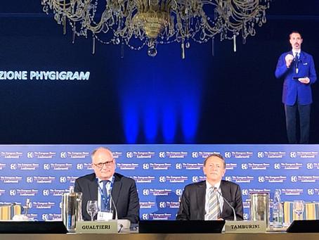 Holography breaks into The European House - Ambrosetti Scenario