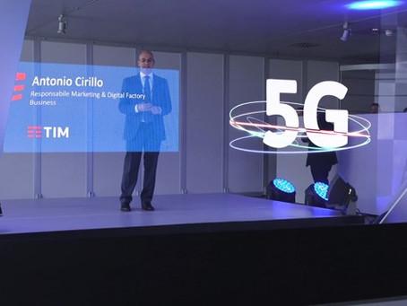 Naumachia Network & TIM: Holography and 5G