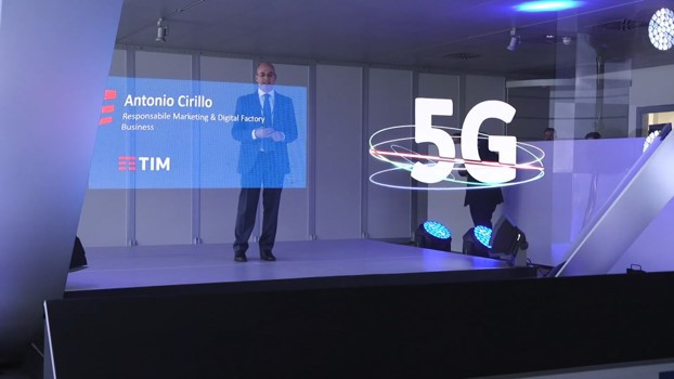 Naumachia Network & TIM: Olography and 5G