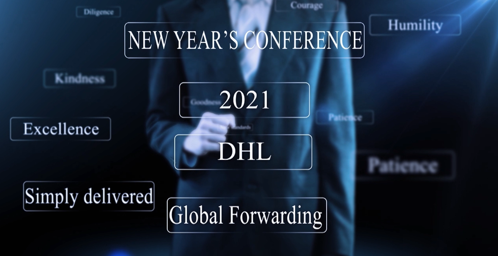 "Naumachia & DHL: Digital Event ""New Year Conference 2021"""