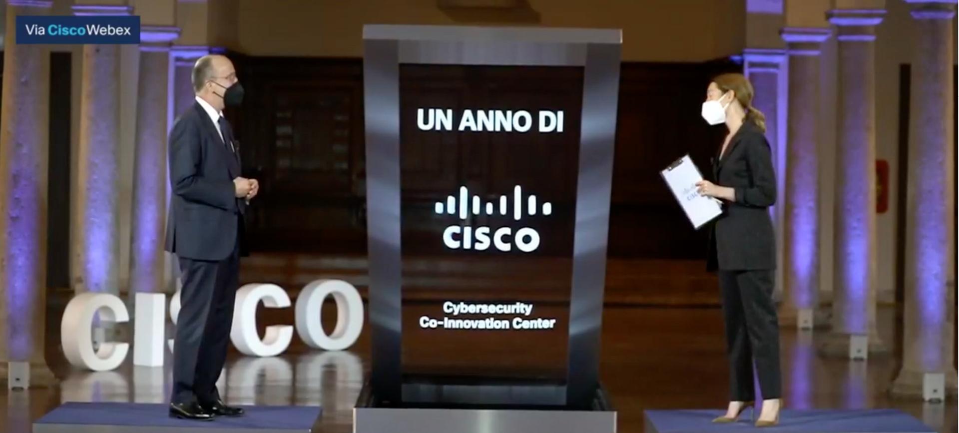 Naumachia protagonista al primo anniversario del Cisco Cybersecurity Co-Innovation Center