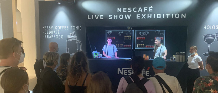 Naumachia & Fuorisalone del Mobile 2021: the first Holographic Bartender in the world arrives
