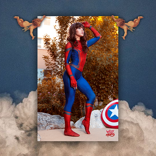 Spider Girl | Double Sided 11x17