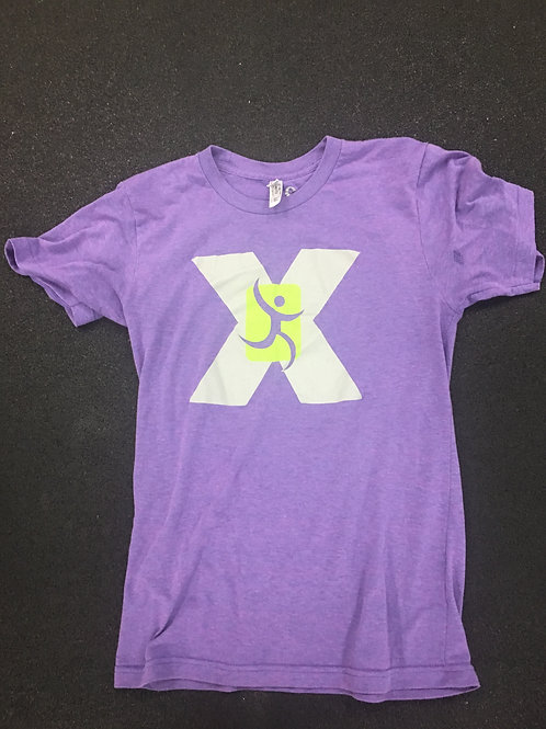 Medical Exercise Trainers Purple T-Shirt