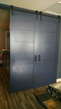 Painted Barn Doors
