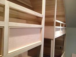 Unpainted Bunk Beds